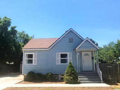 Logan UT Single Family Home Under Contract: $229,900