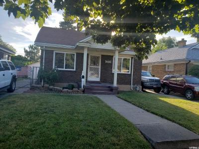 Ogden Single Family Home Under Contract: 3265 Childs