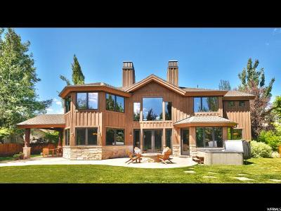 Park City Single Family Home For Sale: 4784 Sagebrush Rd