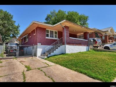 Ogden Single Family Home For Sale: 644 Kershaw St