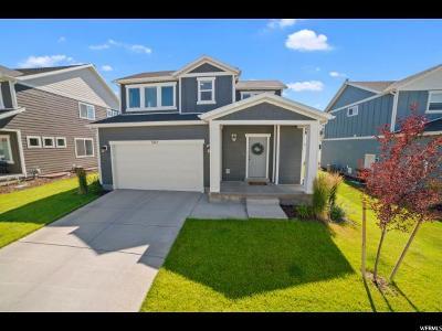 Eagle Mountain Single Family Home For Sale: 7822 N Bur Oak Dr
