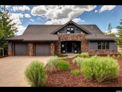 Park City Single Family Home For Sale: 3309 Tatanka Trl