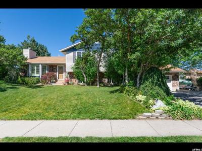 Layton Single Family Home Under Contract: 3105 N 2400 E