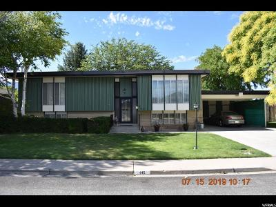Spanish Fork Single Family Home For Sale: 445 W 470 N