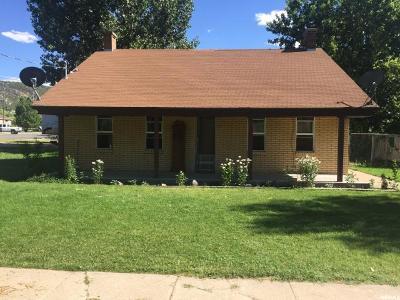 Nephi Single Family Home Under Contract: 492 E 100 S