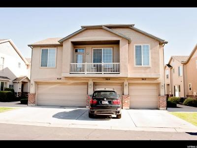 Davis County Townhouse For Sale: 962 W Chelsea N