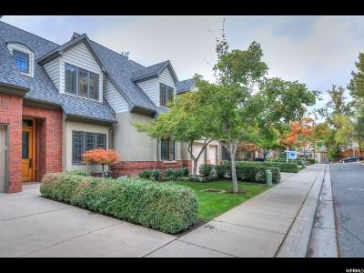 Salt Lake City Townhouse For Sale: 281 N Almond St