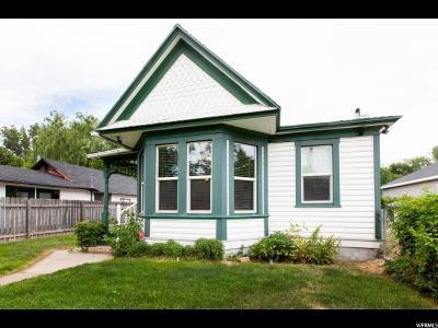 Ogden Single Family Home For Sale: 548 E 1st St