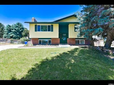 West Jordan UT Single Family Home For Sale: $284,900