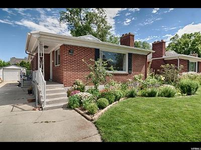 Salt Lake City Single Family Home For Sale: 855 E Zenith Ave S