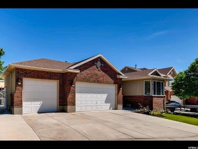 West Jordan UT Single Family Home For Sale: $424,500