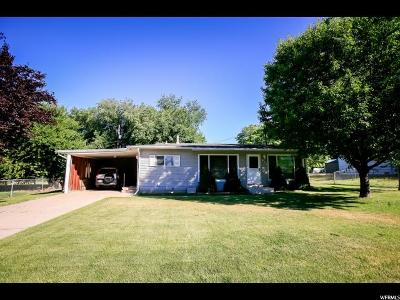 Davis County Single Family Home Under Contract: 911 N La Verde