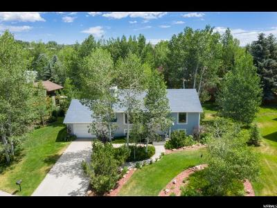 Park City Single Family Home For Sale: 2820 Hackney Ct.
