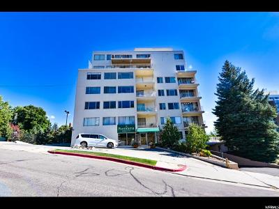 Salt Lake City Condo For Sale: 8 Hillside Ave #501