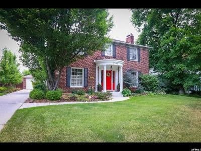 Salt Lake City Single Family Home For Sale: 1970 E Yale Ave S