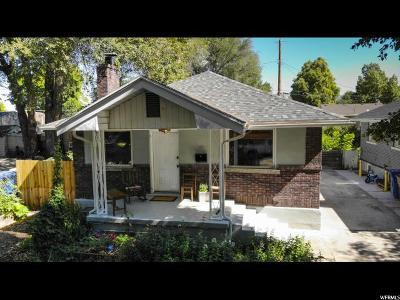 Salt Lake City Single Family Home For Sale: 221 E Williams Ave