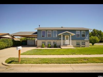 Roy Single Family Home Under Contract: 3614 W 4550 S