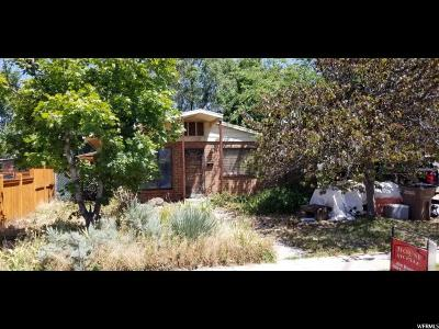 Salt Lake City Single Family Home For Sale: 1290 W Dupont Ave N