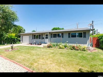 Logan UT Single Family Home For Sale: $213,900