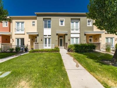 South Jordan Townhouse For Sale: 11224 S Summer Heights Dr