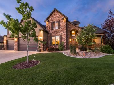 Bluffdale Single Family Home For Sale: 14707 S Hobble Creek Dr