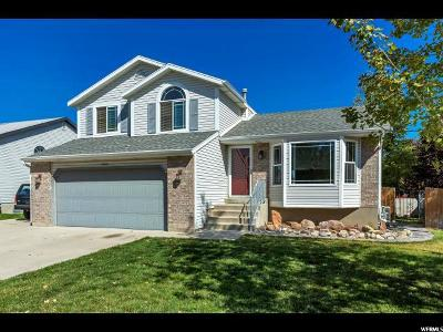 Salt Lake City Single Family Home For Sale: 5960 W Clover Creek S