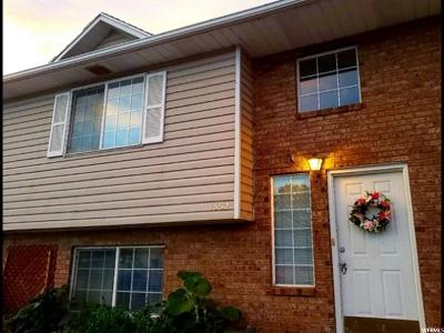 Pleasant Grove Townhouse For Sale: 1552 W Garden Dr
