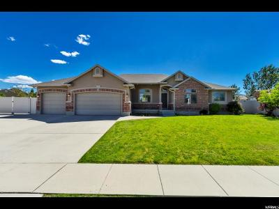 West Jordan Single Family Home For Sale: 5111 W Wild Acres Dr