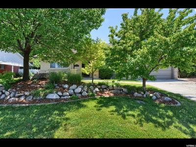 Bountiful Single Family Home For Sale: 2849 Holbrook Rd