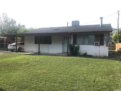 Ogden Single Family Home For Sale: 726 E 1400 N