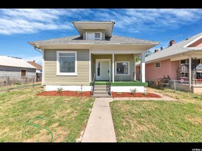 Ogden Single Family Home For Sale: 3212 S Grant Ave E