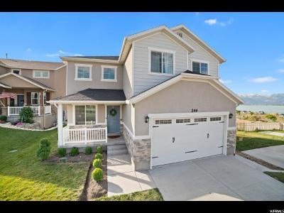 Saratoga Springs Single Family Home For Sale: 246 Rocky Creek Way