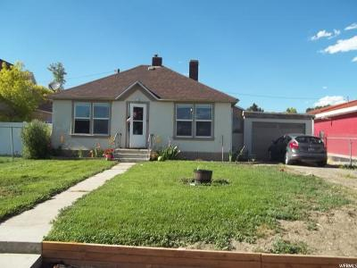 Carbon, Emery County Single Family Home Under Contract: 25 E 100 N