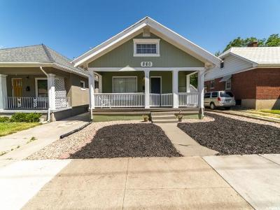 Ogden Single Family Home For Sale: 860 E 27th S