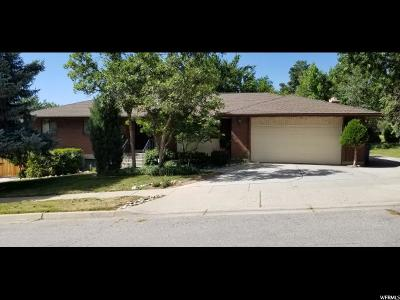 Cottonwood Heights Single Family Home For Sale: 7963 S Willowcrest Rd E
