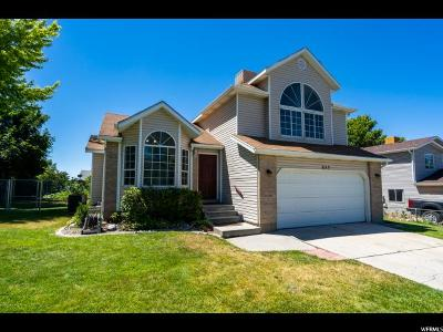 Lehi Single Family Home For Sale: 655 W 2400 N
