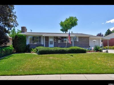 Murray Single Family Home For Sale: 818 E 4280 S