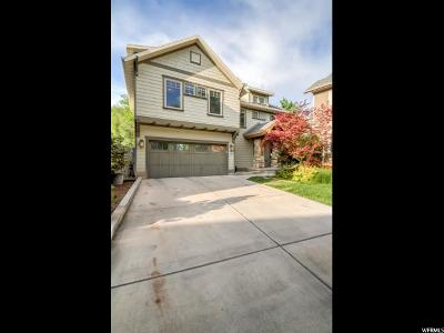 Salt Lake City Single Family Home For Sale: 3315 S Old Millbrook Cir