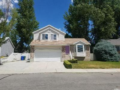 West Jordan Single Family Home For Sale: 1146 W Athleen Dr S