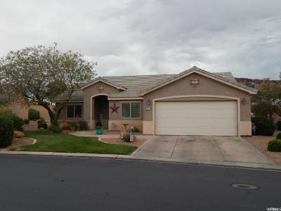St. George Single Family Home For Sale: 1630 E 2450 S #265