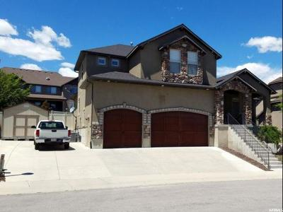 Herriman Single Family Home Under Contract: 14728 S Tangle Hill Rd