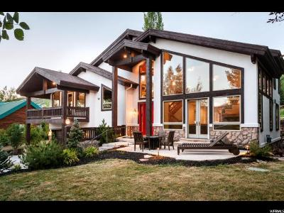 Park City Single Family Home For Sale: 2636 W Sackett Dr