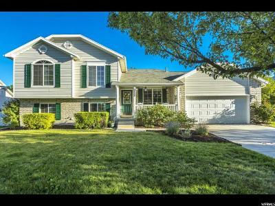 Herriman Single Family Home Under Contract: 5777 W Ballerina Way