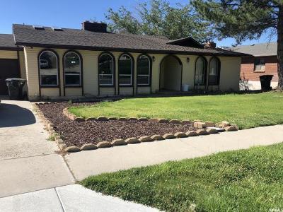 Bountiful Single Family Home For Sale: 3516 Lexington Dr