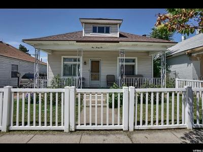 Ogden Single Family Home For Sale: 532 E 30th