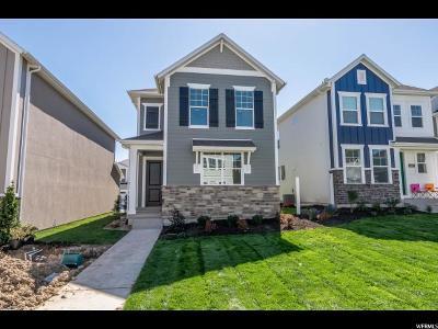 Lehi Single Family Home For Sale: 4440 W Glendon Dr N #341
