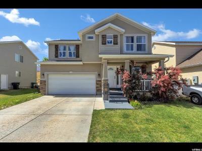 West Jordan Single Family Home For Sale: 7452 S Sunset Maple Dr