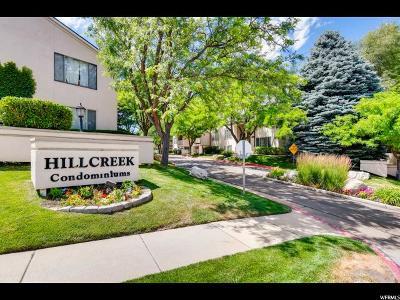 Midvale Condo Under Contract: 987 E Creek Hill Ln S #21