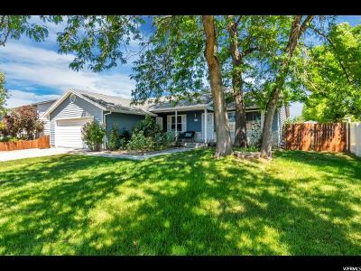 West Jordan Single Family Home For Sale: 3324 W Northborough Dr