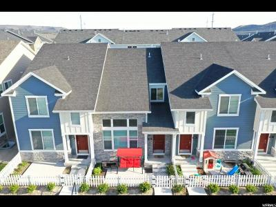 Bluffdale Townhouse For Sale: 1046 W Narrows Ln S